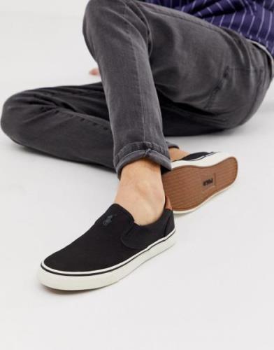 Zapatillas de lona con jugador multicolor en blanco Thompson de Polo R...