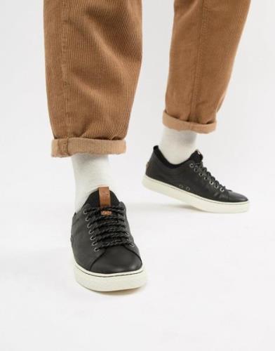 Zapatillas de deporte de cuero en negro Dunovin de Polo Ralph Lauren